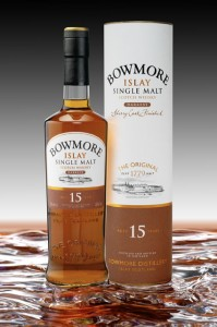 Bowmore 15 Years Old Darkest Single Malt Scotch Whisky